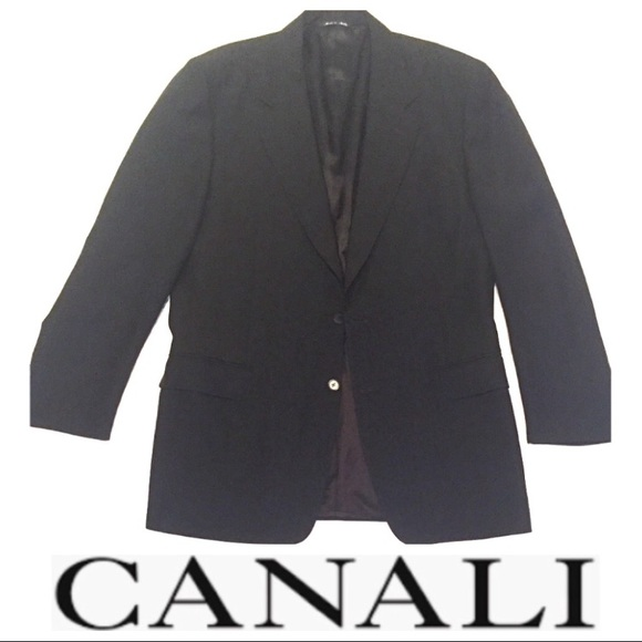 Canali Other - Canali Blazer - Made in Italy - Fine Wool - Black